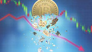 Bitcoin Koers Scherp Omlaag