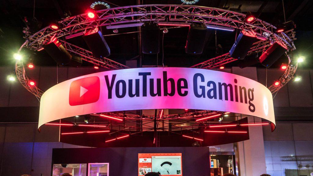 Youtube Gaming op een vakbeurs